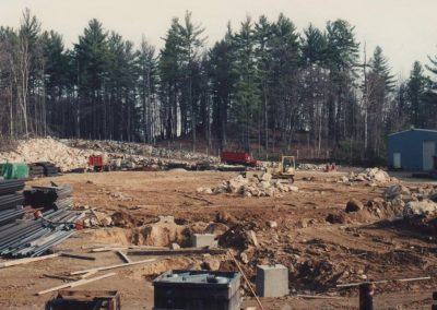CFP new building sitework 1980's
