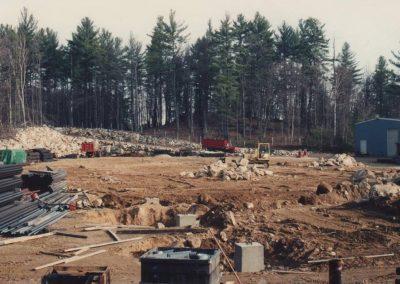 CFP new building sitework 1980's