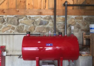diesel fire pump fuel tank