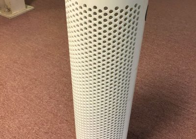 Dry hydrant PVC strainer