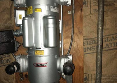 dry pipe system air compressor